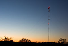 Radio Tower Royalty Free Stock Photography