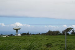 Radio Tower. In Hawaii royalty free stock photo