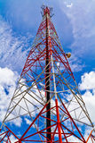 Radio Tower And The Sky Royalty Free Stock Image