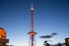 Radio tower in berlin Royalty Free Stock Images