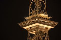 Radio tower berlin west 11th Stock Photography
