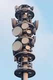 Radio tower closeup Royalty Free Stock Photography