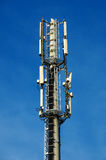 Radio tower. For digital communication Royalty Free Stock Images