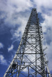 Radio Tower. At the end of the Mount Pisgah Trail near Asheville, NC Stock Images