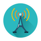 Radio tower icon Royalty Free Stock Image
