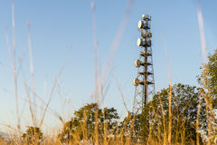 Radio Tower in Queensland Royalty Free Stock Photos