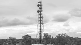 Radio Tower in Queensland stock footage