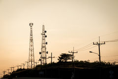 Radio tower Royalty Free Stock Images