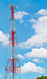 Radio tower and the sky Stock Photography
