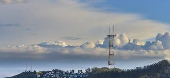 Radio Tower Stock Photo