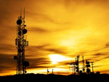 Radio Towers Stock Images