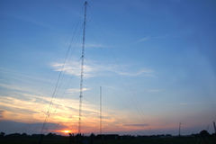 Radio towers Stock Photos