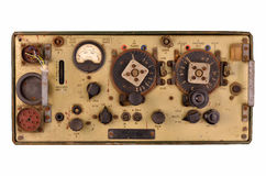 Radio transceiver from ww2 tank Royalty Free Stock Images