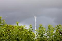 Radio Transmitter under nature. royalty free stock image
