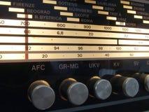 Radio tuner. Classic old radio tuner.Use for your design Stock Photo