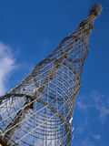 Radio and TV hyperboloid tower Stock Image