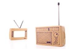 Radio and TV medias Stock Image