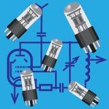Radio valve. Royalty Free Stock Photography