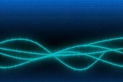 Radio van een golf vector illustratie