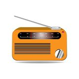 Radio vector illustration Royalty Free Stock Photo