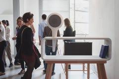 Radio at Ventura Lambrate space during Milan Design week Stock Images