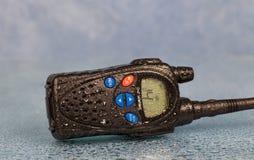 Radio VHF mojada Imagen de archivo