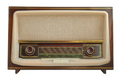 Radio vieja Fotografía de archivo libre de regalías