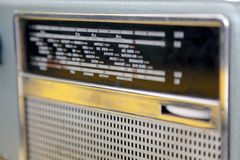 Radio vieja Imágenes de archivo libres de regalías