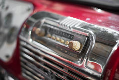 Radio vieja fotos de archivo libres de regalías