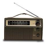 Radio vieja 3d libre illustration