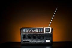 Radio vieja de la moda Imágenes de archivo libres de regalías