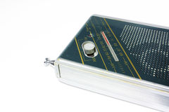 Radio vieja del bolsillo Imagenes de archivo