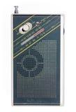 Radio vieja del bolsillo Imagen de archivo