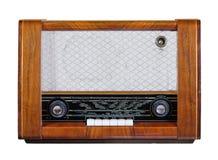 Radio vieja del vintage Foto de archivo