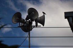 Radio vieja en el pueblo Imagen de archivo libre de regalías