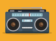 Radio vintage  design. Stock Image