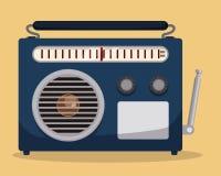 Radio vintage  design. Royalty Free Stock Photos