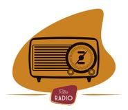 Radio vintage  design. Stock Images