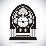 Radio vintage  design. Royalty Free Stock Photography