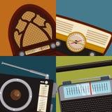 Radio vintage  design. Stock Photos