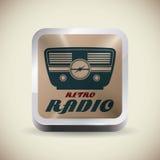 Radio vintage  design. Royalty Free Stock Image