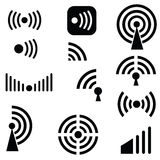 Radio waves Stock Photography