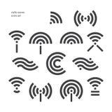 Radio waves Stock Photography