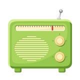 Radio  on a white background. Vector illustration. Stock Image