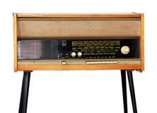 Radio y tocadiscos del vintage Imagen de archivo