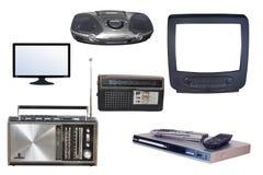 Radio y TV Imágenes de archivo libres de regalías