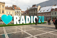 Radio Zu Advertising Royalty Free Stock Photo