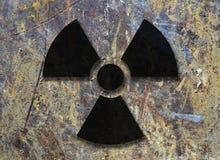 Radioactief symbool stock illustratie