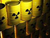 Radioactief vat stock illustratie
