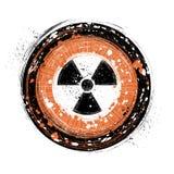 Radioactieve achtergrond Royalty-vrije Stock Fotografie
